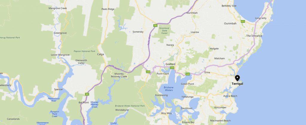 map-terrigal